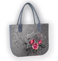 Torba filcowa LADY - Tatoo
